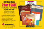 Heads up: The annual Jackman Music BOGO sale